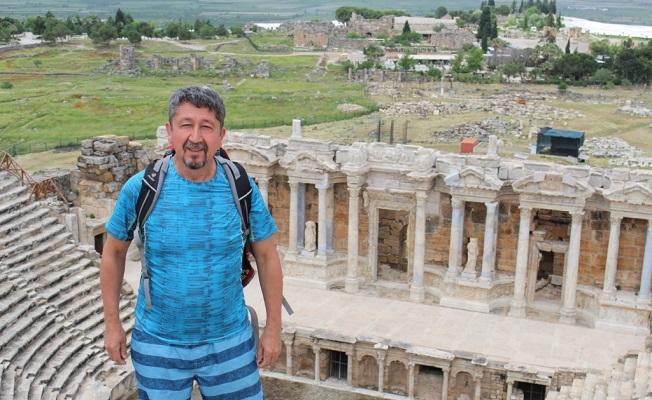 Rıdvan Şükür, Hierapolis'i adımladı