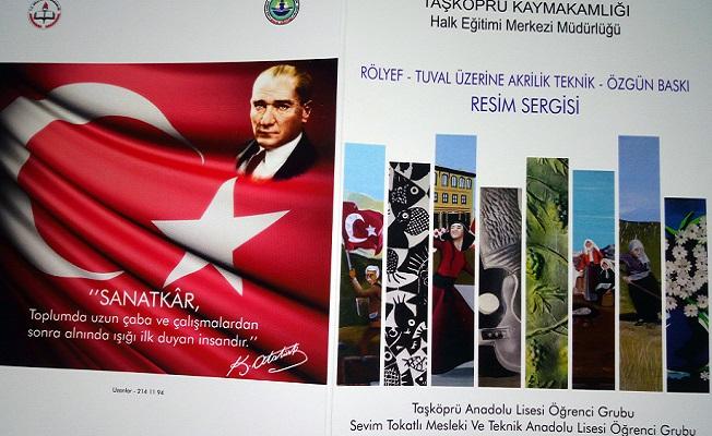 Taşköprü HEM Barutçuoğlu'nda resim sergisi açacak