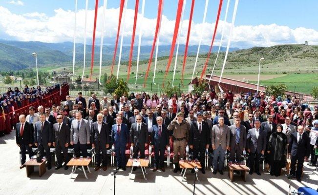 Tosya'da Kız Anadolu İmam Hatip Lisesinin tanıtımı yapıldı