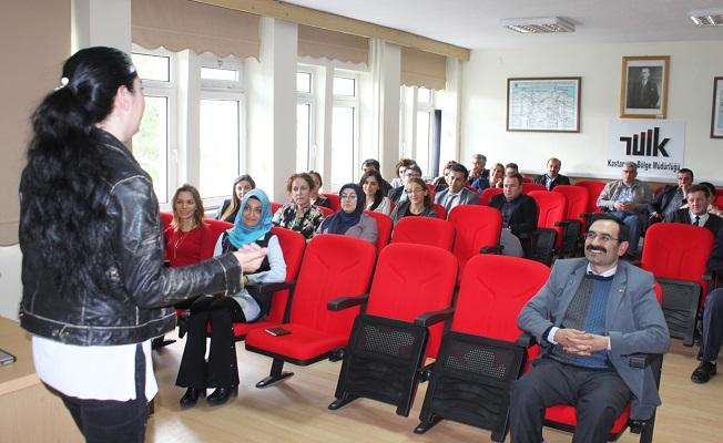 TÜİK çalışanlarına güçlendirme eğitimi