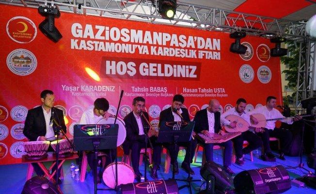 Başkan Usta'dan Kastamonu'da 6 bin kişilik kardeşlik iftarı