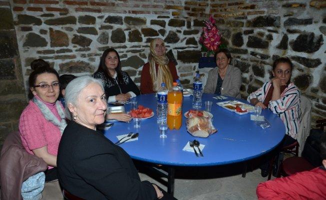Hanönü'de tarihi handa her akşam iftar yemeği veriliyor