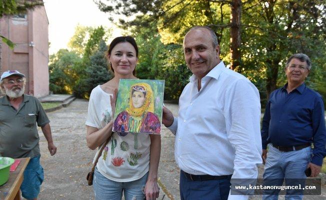 2. Uluslararası Resim Çalıştayı başladı