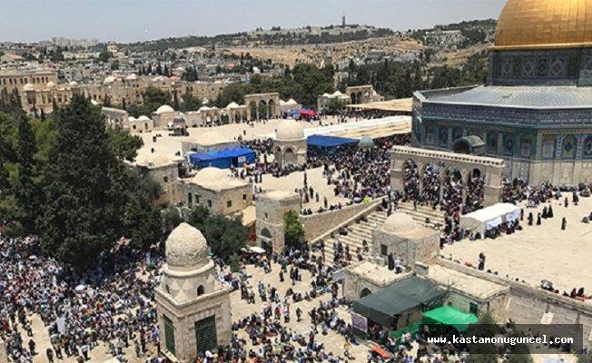 İsrail polisi saldırdı! Çok sayıda yaralı var!