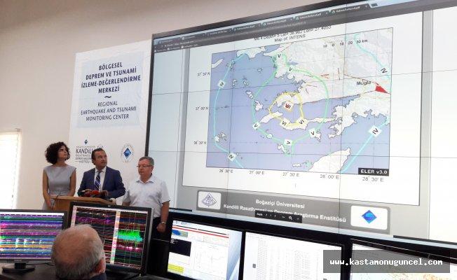 "Kandilli Rasathanesi: ""Deprem 6.6 büyüklüğündeydi"""