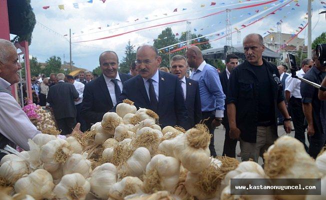 31. Uluslararası Taşköprü Kültür ve Sarımsak Festivali başladı