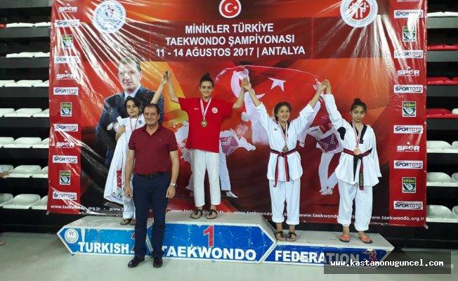 Kavukçuoğlu, Türkiye Şampiyonu oldu