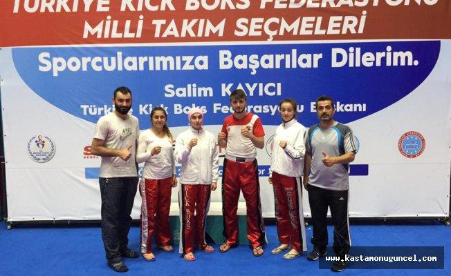 Kick Boks Milli Takımına Kastamonu'dan 4 sporcu!