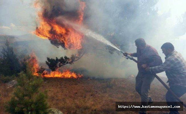 Bayram boyunca ülke genelinde 69 orman yangını