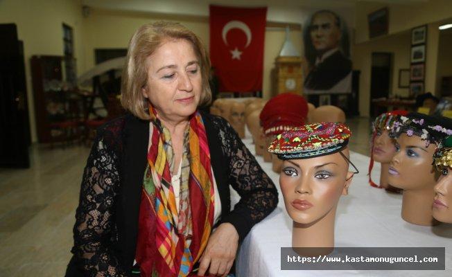Kraliyet kadınlarının kepinde Anadolu'dan izler