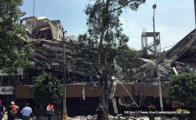 Meksika'daki depremde ölü sayısı artıyor!