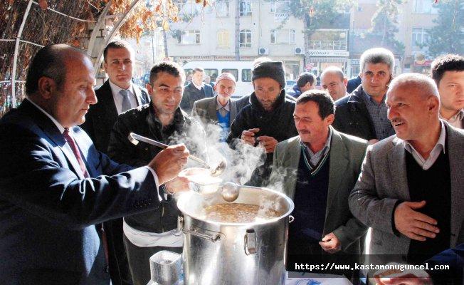 Taşköprü Belediyesi 3 bin kişiye aşure ikram edecek