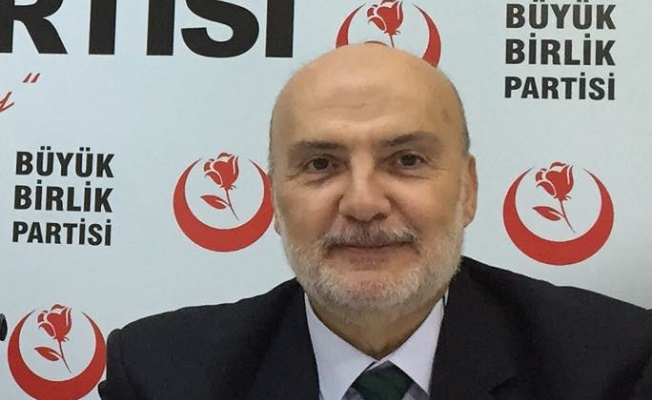 BBP'li Ahmet Yelis'in Yeni Yıl Mesajı