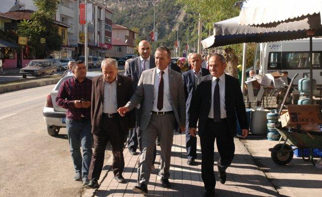 AK Parti Yerel Yönetimler Başkan Yardımcısı Geldi, Hanönü'de