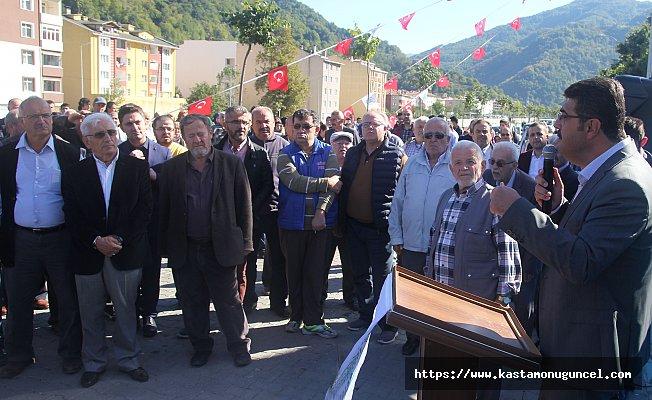 Bozkurt'a kültür merkezi yapımı