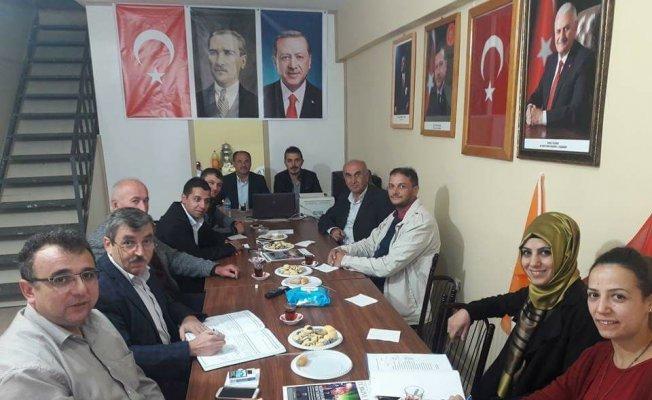 Daday'da AK Parti İlçe Yönetimi, ilk toplantısını gerçekleştirdi