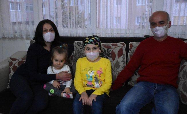 Zonguldak'ta işsiz babadan lösemili kızına yardım çağrısı