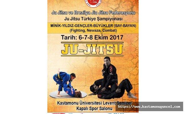 Ju Jitsu Türkiye Şampiyonası Kastamonu'da yapılacak