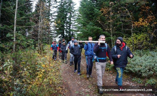 KADASK'tan Yaralıgöz Dağı'nın zirvesine yürüyüş