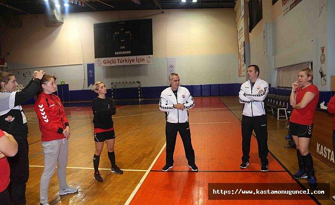 Kastamonu Belediyespor'da EHF Kupası heyecanı