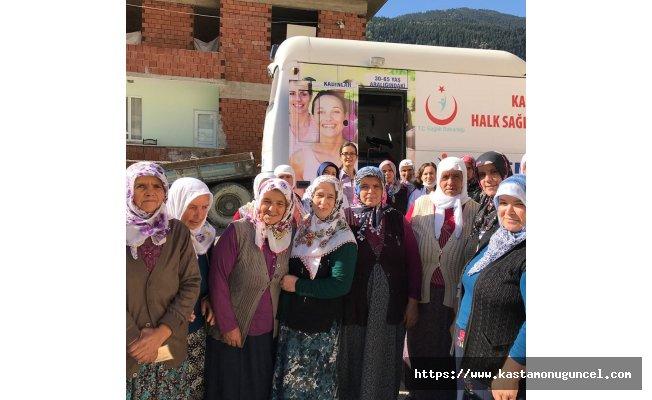 Köylerde Kanser taraması yapılıyor