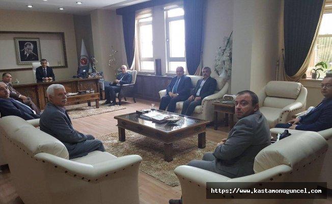 MHP Teşkilatları'ndan Başsavcı Kantarcı'ya ziyaret!