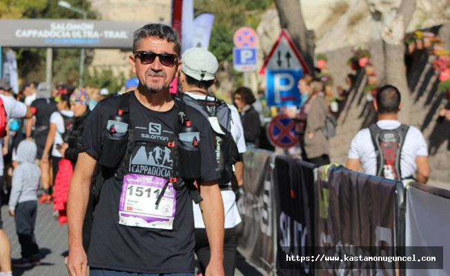 Rıdvan Şükür, Cappadocia Ultra Trail'de koştu