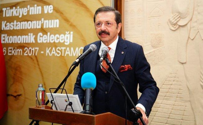 """TOBB Başkanı Hisarcıklıoğlu: """"620 bin firmaya 230 milyar lira kaynak sağladık"""""""