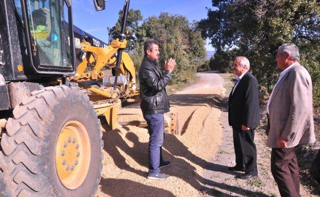 Tosya'da asfalt çalışmaları