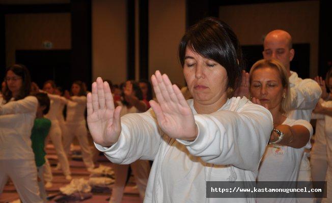Uluslararası Yoga Festivali sona erdi