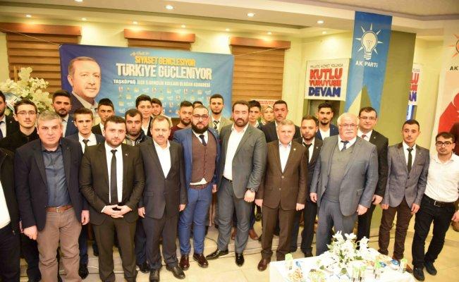 AK Parti Taşköprü İlçe Gençlik Kolları Olağan Kongresi
