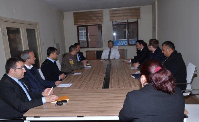 Hanönü'de ilçe güvenlik toplantısı yapıldı