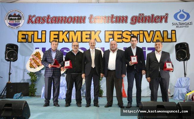 Kastamonu Tanıtım Günleri'nde 10 bin etli ekmek dağıtıldı