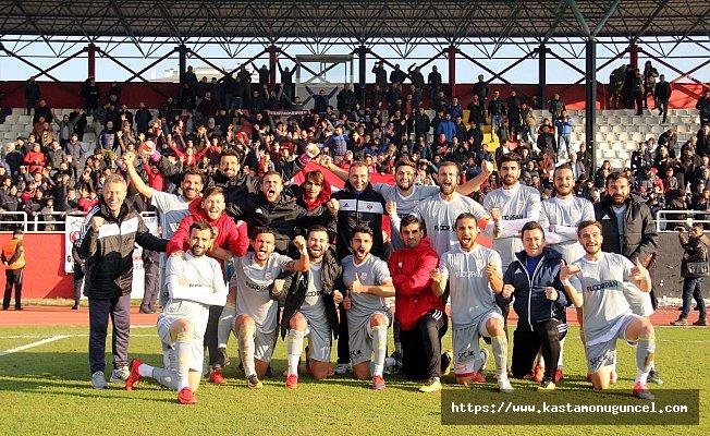 Kastamonuspor 1966: 5 - Amed Sportif: 0