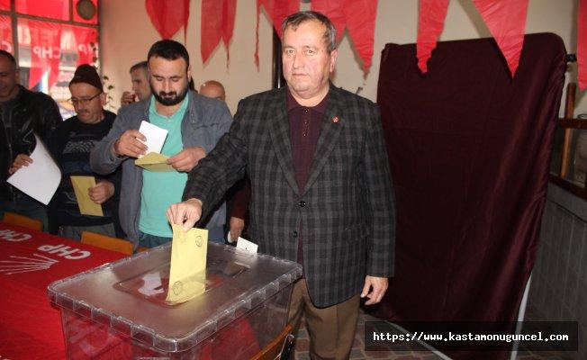Küre'de CHP yeni İlçe Başkanı Ahmet Demirtaş