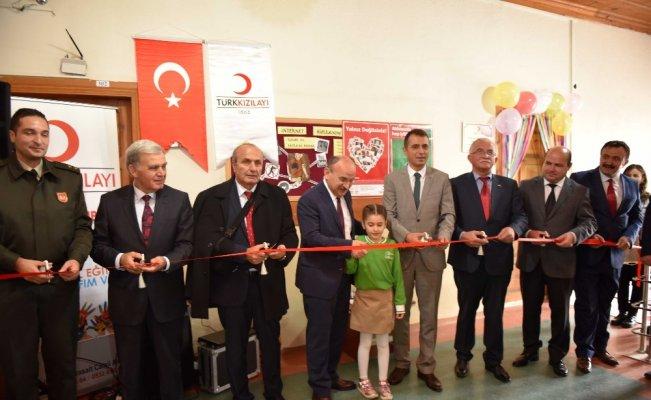 Taşköprü'de Türk Kızılay'ı tarafından özel eğitim sınıfı açıldı