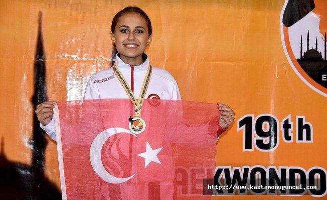 Tuğba Şengül Balkan Şampiyonu!
