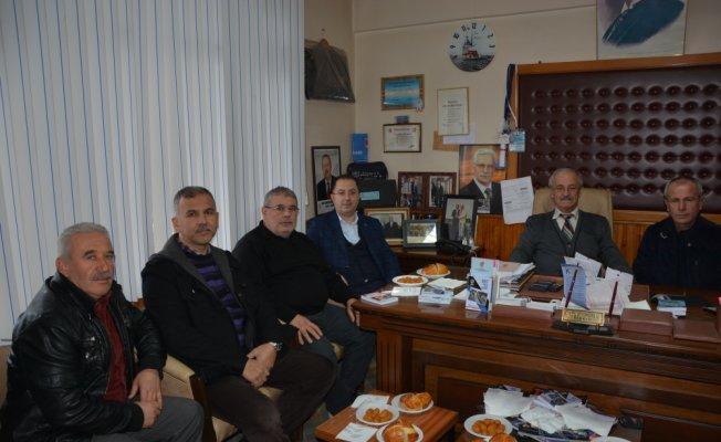 AK Parti İnebolu teşkilatından şoförlere ziyaret