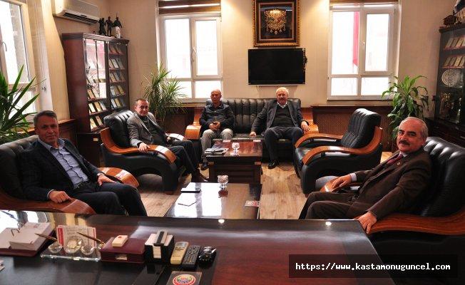 Çerkeş Belediye Başkanı Sopacı'dan ziyaret