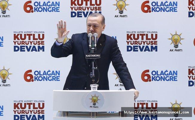"""Erdoğan; """"Sınırlarımızın ötesini güvenli hale getireceğiz"""""""