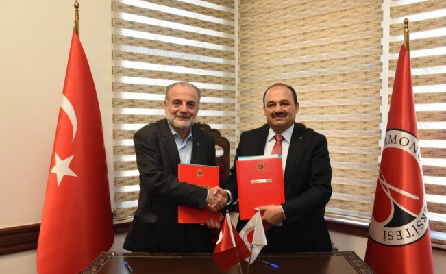 Kastamonu Üniversitesi ile Maarif Vakfı arasında işbirliği protokolü