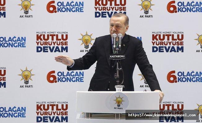 """""""Kastamonu'ya 15 yılda 15 milyar lira yatırım"""""""