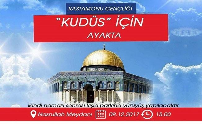 Kudüs için birlik yürüyüşü!
