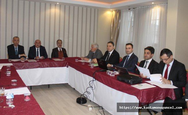 KUZKA, 2017 yılı son toplantısını Çankırı'da yaptı