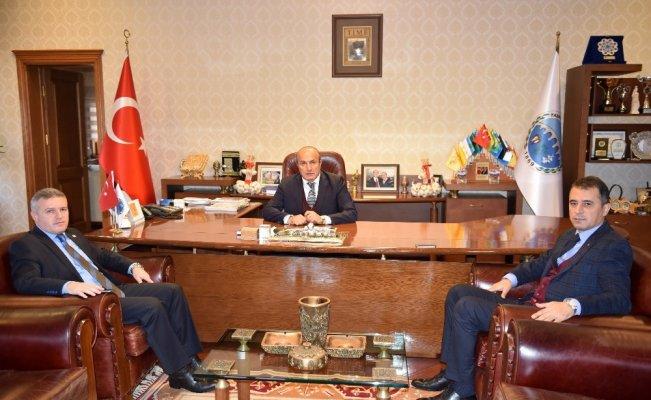 Milletvekili Çelik'ten Başkan Arslan'a ziyaret