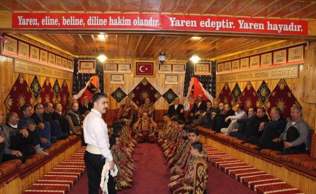 Tosya Yaren Meclisi Ocağını Kaymakam Pişkin yaktı