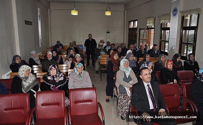 Umre adaylarına sağlık eğitimi verildi