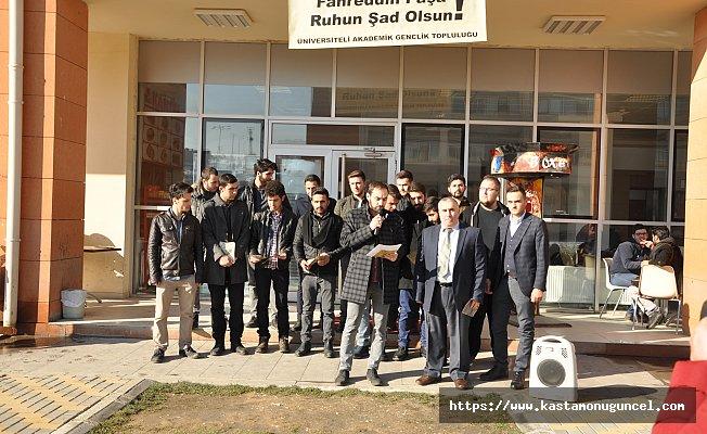 """Üniversite öğrencilerinden """"Fahreddin Paşa"""" tepkisi"""
