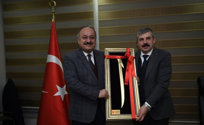 AK Parti il Başkanı Ünlü'den Başkan Babaş'a ziyaret