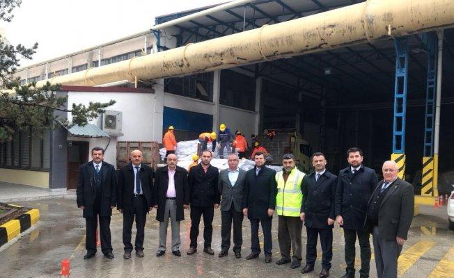 AK Parti Merkez ilçe Başkanı Özdemir, SFC Entegre'ye ziyaret etti